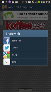 Koffee 98.7 Cape Cod - screenshot thumbnail