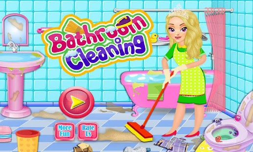 Bathroom Clean Up & Makeover- screenshot thumbnail
