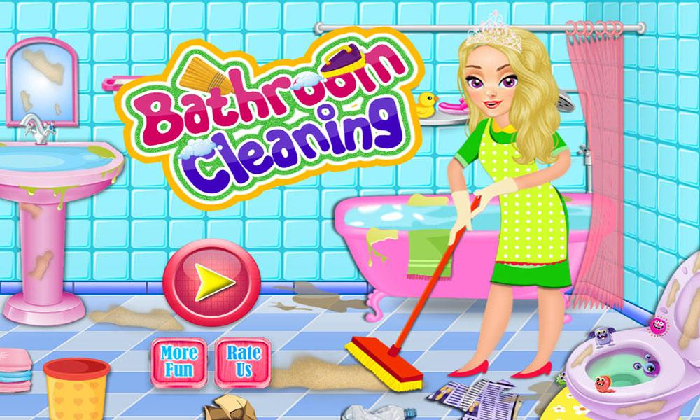 Bathroom Clean Up & Makeover- screenshot