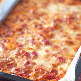 Soft and Doughy Pizza (Pizza al taglio alta e soffice)