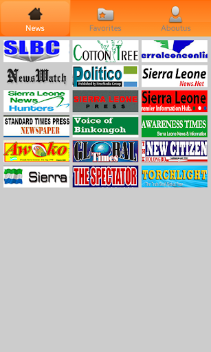 Sierra Leone Newspapers.