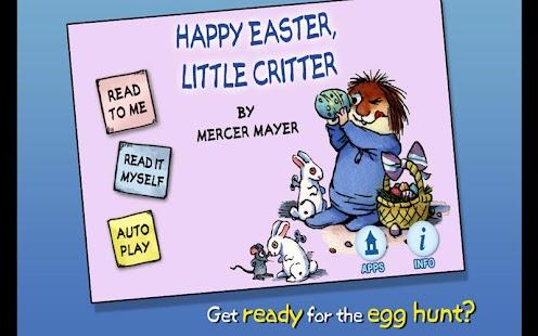Happy Easter, Little Critter - náhled