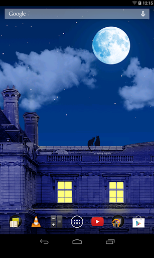 Paris By Night Live wallpaper