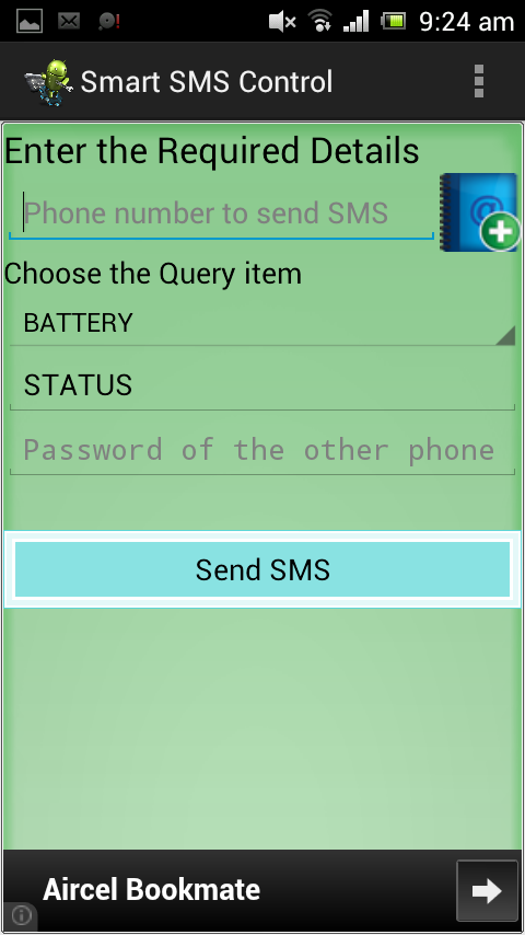 iWay SMS Controller- screenshot