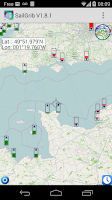 Screenshot of Marine Weather   SailGrib Free