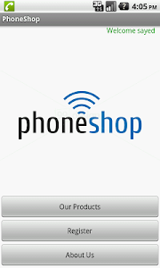 Phone Shop screenshot 0
