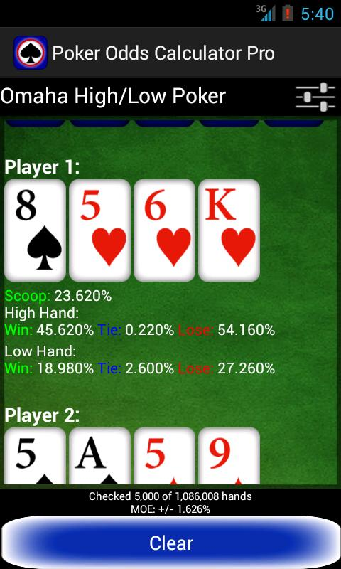 how to win at omaha high low poker