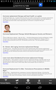 Hormone Replacement Therapy - screenshot thumbnail