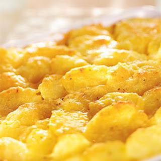 Aardappelgratin Met Geitenkaas, Hazelnoot En Bosui