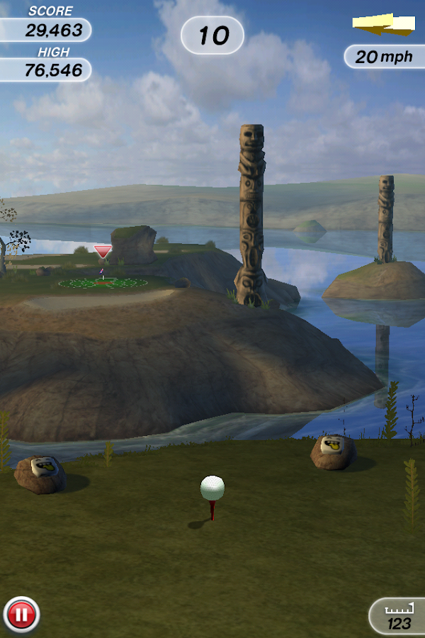Flick Golf! - screenshot