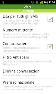 Free SMS Skebby - screenshot thumbnail