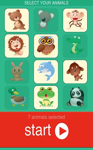 玩免費娛樂APP|下載嬰兒的動物拼圖 app不用錢|硬是要APP