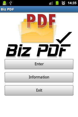 Biz PDF Reader- screenshot