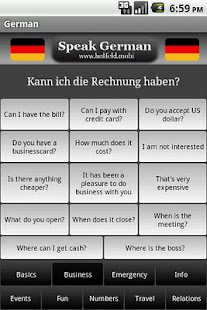 Speak German - screenshot thumbnail
