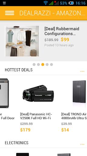 Daily Amazon Deals - DealRazzi