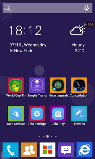 GO Launcher EX Theme Pink Cute - Android Apps on ...