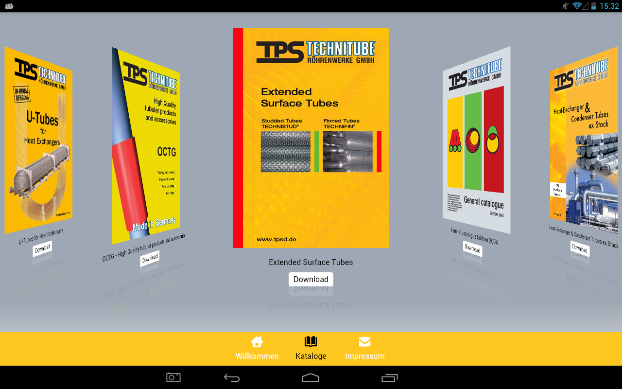 TPS Technitube Catalogs - screenshot