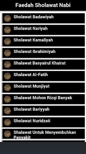 Faedah Sholawat Nabi