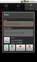 Screenshot of GPS Point Track Lite