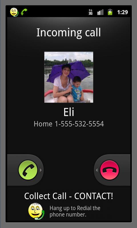 Collect Call- screenshot