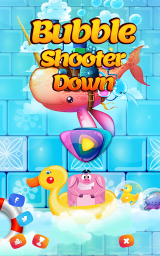 Bubble Shooter Down