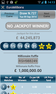 UK lottery - screenshot thumbnail