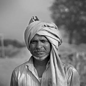 by Deepraj Das - Black & White Portraits & People