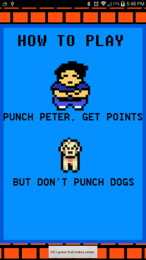 Peter Punch Party- screenshot