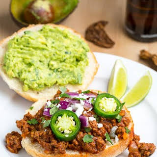 Texmex Sloppy Joes.