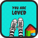 you are loved mint dodol theme icon