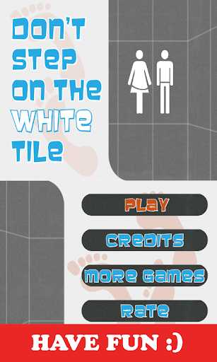 Dont Step On The White Tile