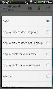 Group Contact  Manager- screenshot thumbnail