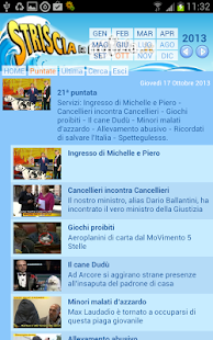 Striscia la APP- screenshot thumbnail
