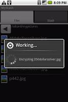 Screenshot of MyStash