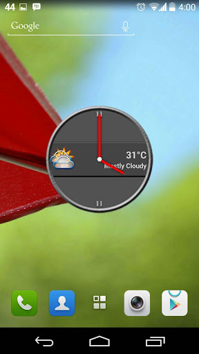 Slate Clock Widget
