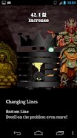 Screenshot of eChing - electronic I Ching