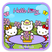 Hello Kitty Flower mom Theme