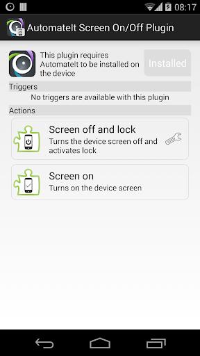 AutomateIt Screen On-Off Lock