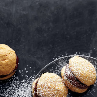 Pumpkin-Chocolate Whoopie Pies