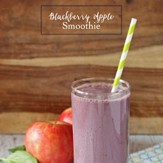 Blackberry Apple Smoothie #myberrysmoothie.