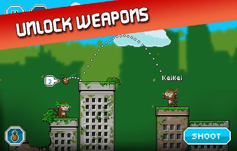 City Monkey: Pixel Artillery Screenshot 24