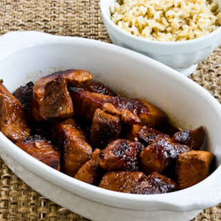 Pork Adobo (Pork Cooked in a Pickling Style as in the Phillipines).