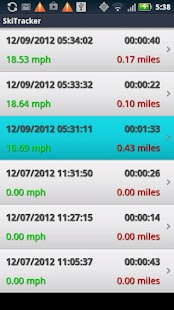 Ski Tracker+ by 30 South - screenshot thumbnail