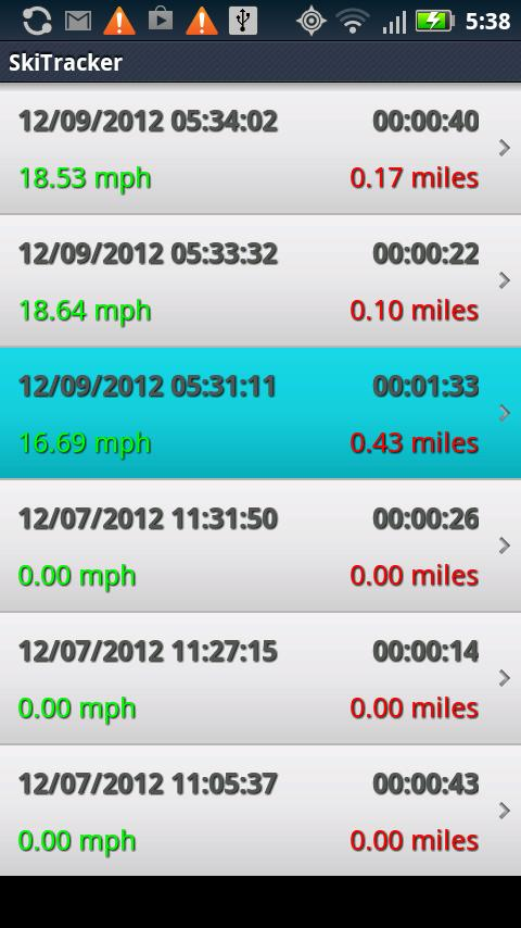 Ski Tracker+ by 30 South- screenshot