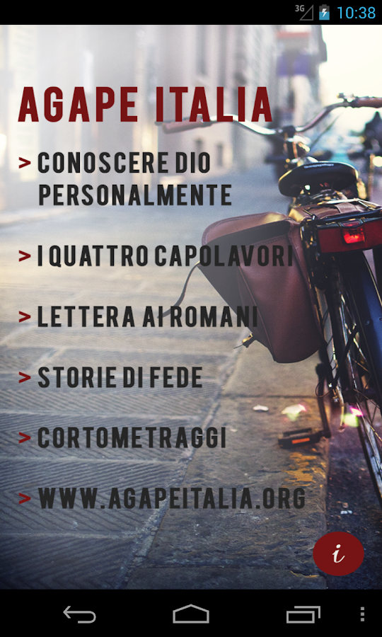 Agape Italia- screenshot