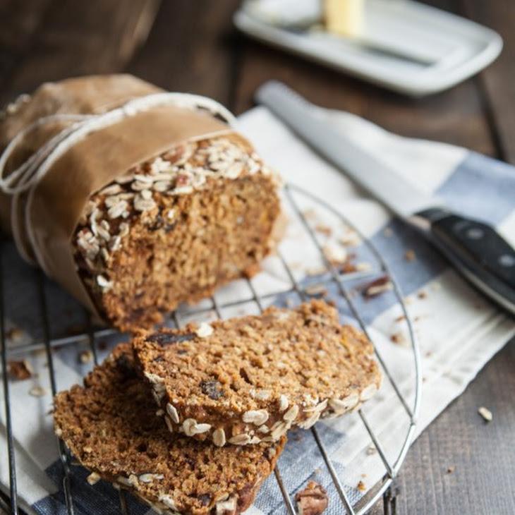 Pumpkin Oat Bread Recipe