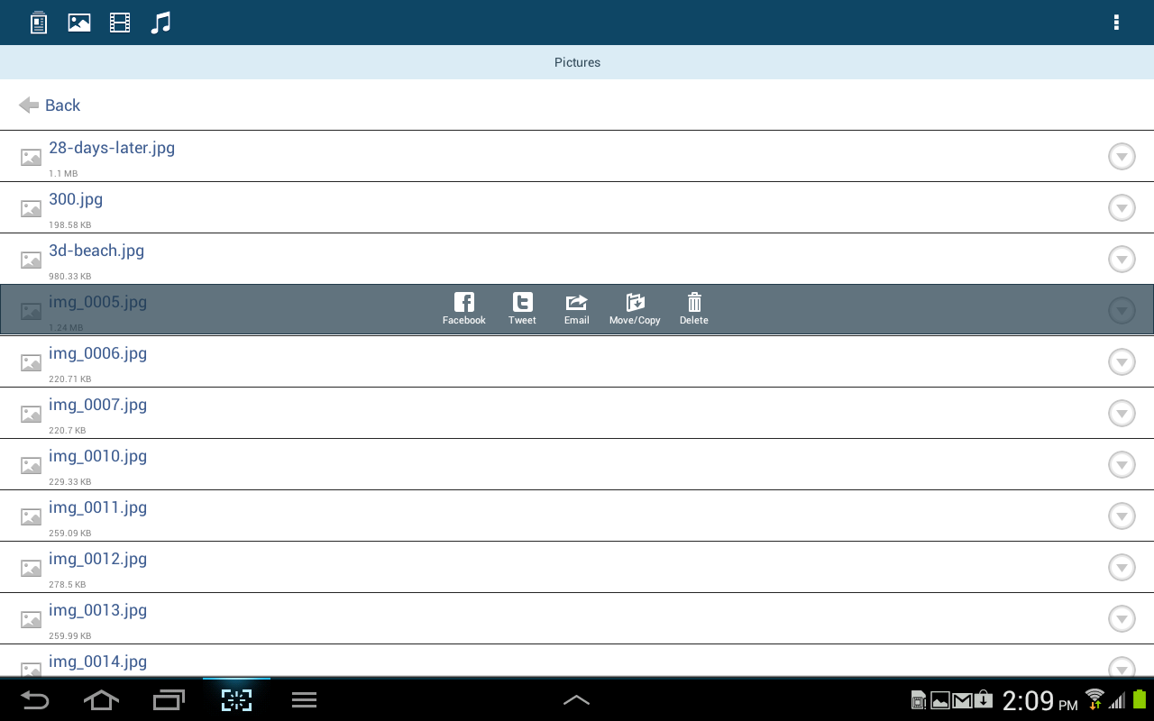 Kingston MobileLite - screenshot