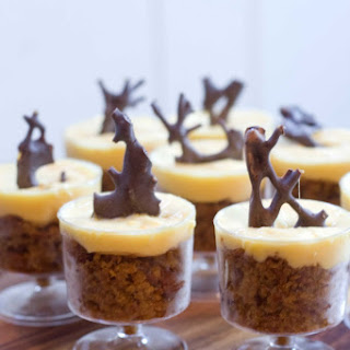 Pumpkin Cake with Spiced Cream Cheese Frosting
