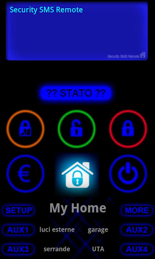 Security SMS Remote screenshot 1