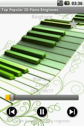 Top Popular 3D Piano Ringtones - screenshot